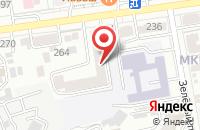 Схема проезда до компании Орион в Ставрополе