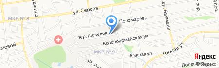 ЛОКАРТ на карте Ставрополя