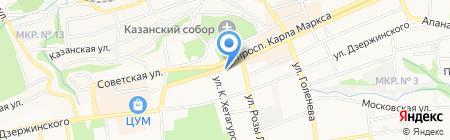 Л`Этуаль на карте Ставрополя