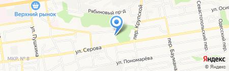 Соло на карте Ставрополя