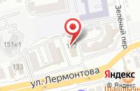 Схема проезда до компании ЮгДорСтрой в Ставрополе
