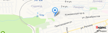 Фарм-Трэйд на карте Ставрополя