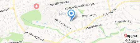 ФОРГАЗ на карте Ставрополя
