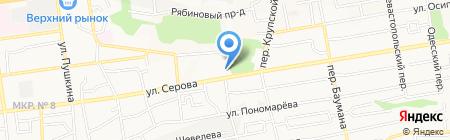 Инжспецстрой на карте Ставрополя