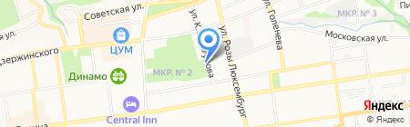 Парк реклама на карте Ставрополя