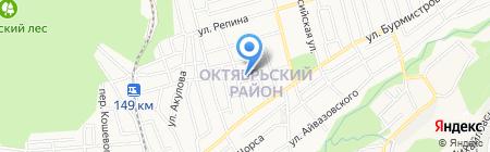 Центр общей врачебной (семейной) практики на карте Ставрополя