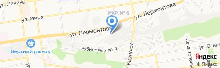 Авторазбор-м на карте Ставрополя