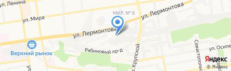 Galactic Records на карте Ставрополя