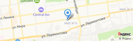 Ставропольская справочная служба по товарам и услугам на карте Ставрополя
