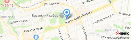 Память на карте Ставрополя