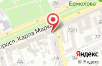 Схема проезда до компании Стиг в Ставрополе