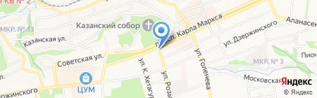 Пив Бар Паб на карте Ставрополя