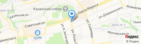 Один+ на карте Ставрополя
