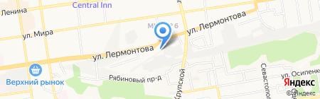 Шашлычный остров на карте Ставрополя