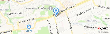 Планета Секонд-Ленд на карте Ставрополя