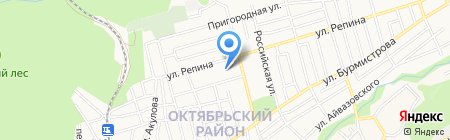 Детский сад №61 на карте Ставрополя