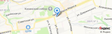 АЛЬПИКА на карте Ставрополя
