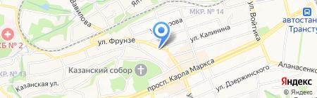 Милосердие на карте Ставрополя