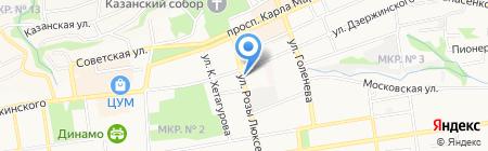 Психология успеха на карте Ставрополя