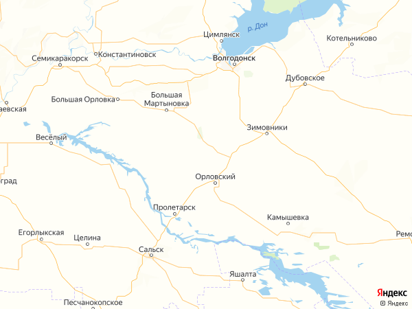 хутор Красный Октябрь на карте