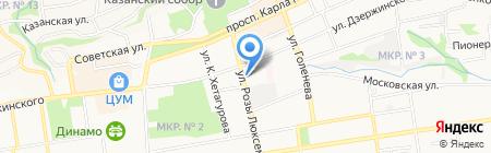 Проект Монтаж на карте Ставрополя