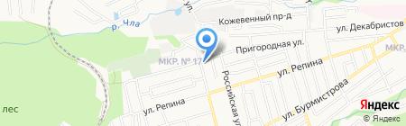 Санги-Стиль на карте Ставрополя