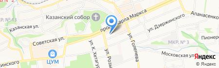 АЗЕРИ Азербайджанская Национально-Культурная Автономия г. Ставрополя на карте Ставрополя