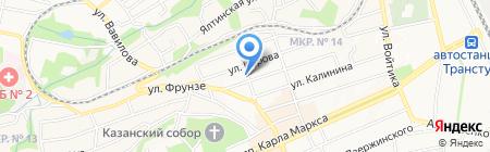 Звезда на карте Ставрополя