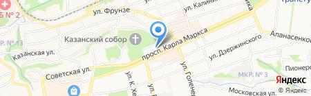 Ставрополькоммунпроект на карте Ставрополя