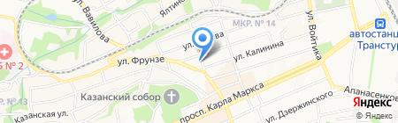 Формат-X на карте Ставрополя