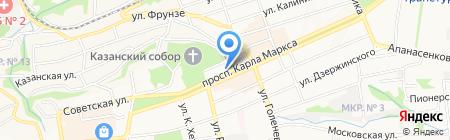 ZebROOM на карте Ставрополя