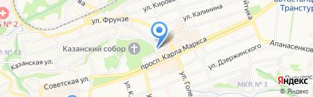 Бремен на карте Ставрополя