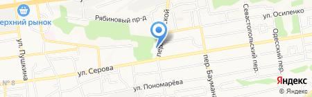 Ставропольский краевой колледж искусств на карте Ставрополя