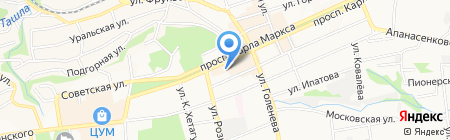 МТС на карте Ставрополя