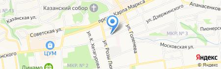 Сиера-Тур на карте Ставрополя