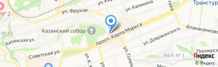 Мировые судьи Ленинского района на карте Ставрополя