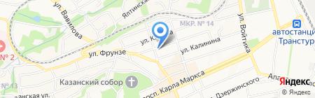 Департамент Росприроднадзора по Северо-Кавказскому федеральному округу на карте Ставрополя