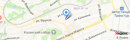 Ставропольский центр государственного экологического мониторинга на карте Ставрополя