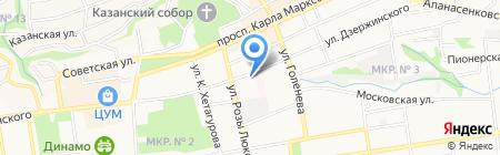 Кадастровый инженер Шуйский А.А. на карте Ставрополя