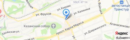 Стиль-ССВ на карте Ставрополя