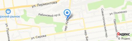 Мастерская по изготовлению печатей и штампов на карте Ставрополя