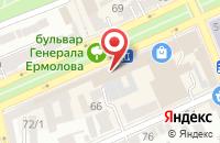 Схема проезда до компании Ставрополь Фильм в Ставрополе