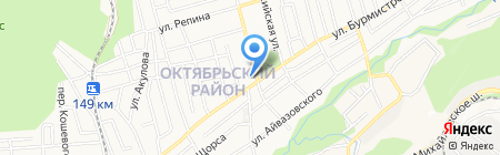 Melange на карте Ставрополя