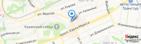 Меховое ателье №1 на карте Ставрополя
