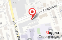Схема проезда до компании Блиц-Инфо в Ставрополе