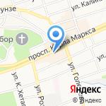 Региональный расчётный центр Ставропольского края на карте Ставрополя