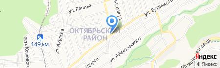 Магазин цветов на карте Ставрополя