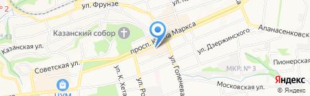 СКИРО ПК и ПРО Ставропольский краевой институт развития образования на карте Ставрополя