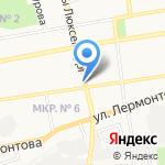 К2. Код Красоты на карте Ставрополя