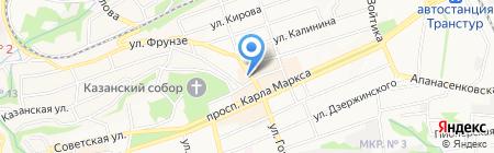 Аптека 03 на карте Ставрополя